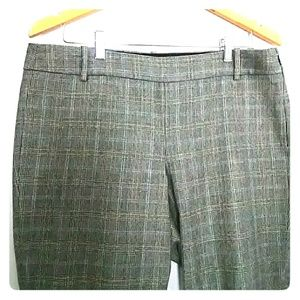 J. Crew Pants - J.Crew Minnie pants gray Glen Plaid
